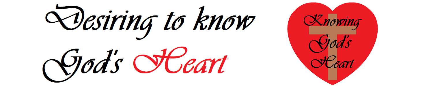 Knowing God's heart